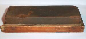 "Vintage Sharpening Stone , India Medium MB , 6"" x 2"" x1"""