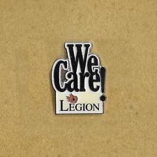 We Care! Canada Legion Lapel Pin
