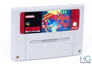 Super Metroid - Super Nintendo SNES Retro Game Cartridge PAL