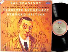 LONDON DIGITAL ffrr UK Rachmaninov ASHKENAZY Piano Concerto #1 HAITINK 417 613-1
