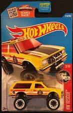 Hot Wheels Yellow Chevy Blazer 4X4 HW Rescue 3/10 New 2015