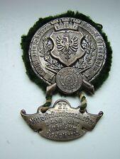 Schützenabzeichen von 1913 - 27.Mittelfränkisches Bundesschiessen. Windsheim