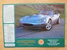 GINETTA RANGE orig 1994 UK Mkt Sales Leaflet Brochure - G27 Junior Libre G34