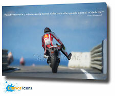 "MARCO SIMONCELLI CANVAS PAINTING 30""x20"" WALL ART PRINT MOTIVATIONAL QUOTE"