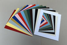 """Cardboard PICTURE MOUNTS for 10x8"""" Picture Frame Lots of colours & cut out sizes"""