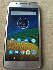 Motorola MOTO Moto G5 - 16GB - XT1676 Fine Gold Smartphone