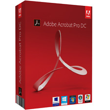 Adobe Acrobat dc pro 2015 32/64 bit full version-with key PC & Mac