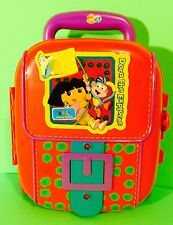Dora The Explorer Plastic Rolling Suitcase Storage Case Telescopic Handle Gift