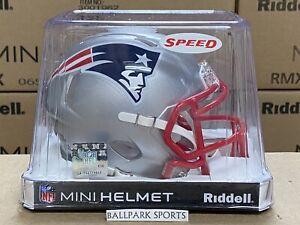 New England Patriots - Riddell NFL Speed Mini Football Helmet