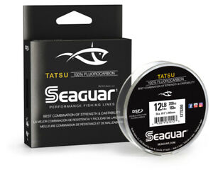 Seaguar 06TS200 Tatsu 100% Fluorocarbon Main Line 6lb 200yd