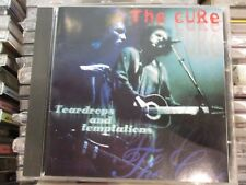 The Cure Teardrops And Temptations CD Rare Live London 1991