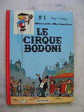 PEYO - Benoit Brisefer 5 - Le cirque Bodoni - EO
