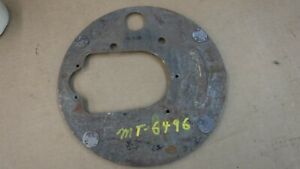 Model T Ford Drivers Side Rear End Backing Plate MT-6496