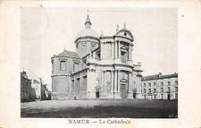 NAMUR BELGIUM CHURCH WW1 MILITARY FELDPOST POSTCARD 1915