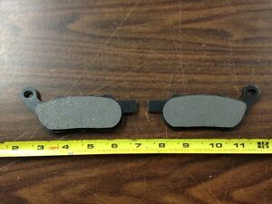 Softail Brake Pads for Rear Brakes on Harley Softail /& Dyna Models 2008-13