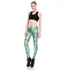 Peacock Feather Leggings. New