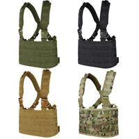 Condor Outdoor MCR4 OPS MOLLE Airsoft Chest Rig Adjustable Tactical Modular Vest