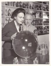 KATHERINE DEMILLE MAX FACTOR Original CANDID Make-up Factory Vintage DBW Photo