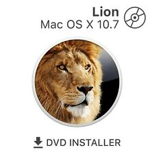 mac OS X 10.7 Lion Bootfähige DVD Installationsdaten Reparatur Recovery Disc