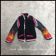 MONSTER HIGH HOME ICK HEATH BURNS VARSITY JACKET NEW