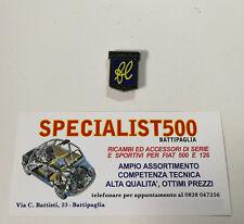 FIAT   500 STEMMA SMALTATO FRANCIS LOMBARDI