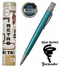 Retro 51 Aquamarine / #STB-1719  Slim Series Tornado Ball Point Pen