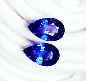 Natural Blue Sapphire Loose Gemstone 8 to 10 cts Certified Pairs Z137