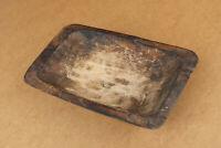 Antique Primitive Wooden Bread Bowl Dough Plate Kneading Trough Farmhouse 19th