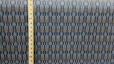 Brentano Kinetic Cold Fusion Blue & gray Contemporary Tiles Upholstery Fabric