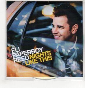 (GH490) Eli Paperboy Reed, Nights Like This  - 2014 DJ CD