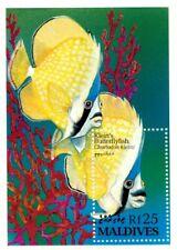 VINTAGE CLASSICS - Maldives 1869A - Klein's Butterflyfish - Souvenir Sheet - MNH