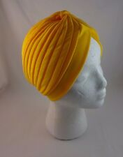 Turban head wrap solid bright colors full coverage polyester fabric