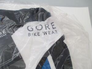 Gore Bike Wear blue white Cycle shirt Short Sleeve Jersey Sz S New