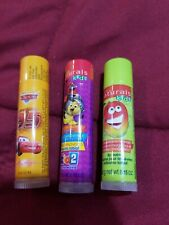 AVON KIDS LIP BALM - CARS AND NATURAL - LOT OF 3 - SEALED - DISCONTINUED