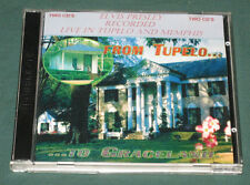 Elvis Presley Recorded Live Memphis From Tupelo to Graceland 2 CD Set RARE