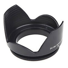 58mm screws wreaths petal lens hood for Nikon Sigma Sony Tamron Black SYAU H2I2