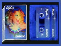 Kylie: Disco - Deluxe Edition - Limited Double BLUE Cassette - 4 bonus tracks
