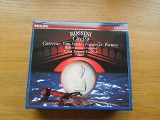 Rossini: Otello Philips Classics 2 CD Box set 028943245623  432 456-2