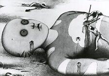 """LA PLANETE SAUVAGE"" RENE LALOUX ROLAND TOPOR PHOTO DE PRESSE CINEMA EM"