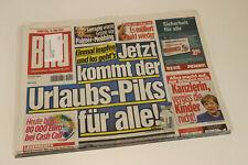 BILDzeitung 11.05.2021 Mai Corona    Impfung Sarrazin Merkel