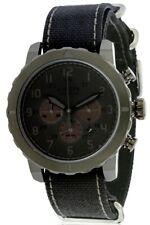 Citizen Eco-Drive Military Chrono All Black Nylon Mens Watch CA4098-06E