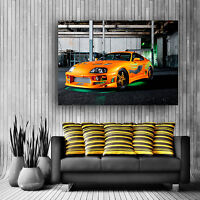 Toyota Supra Fast And Furious Poster Large Giant Huge Print Wall Art Free P&P