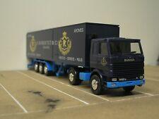 Herpa SCANIA R142 V8 Truck Robertet Aromas 40ft RARE 1:87 Lorry HO Original Box