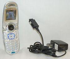 LG VX4650 Verizon Wireless Flip Cell Push-Speaker Phone SILVER web data text -B-