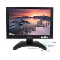 10 inch IPS EDP HD 1920*1201 Video Audio HDMI VGA Monitor Screen Remote Control