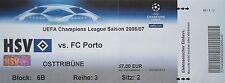 TICKET UEFA CL 2006/07 Hamburger SV - FC Porto