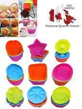 36 Pcs Silicone Cupcake Baking Cups, AIFUDA Reusable Mini Cake Cups Liners Mold