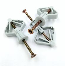 Hohlraumdübel Nylondübel mit Schraube Gipskartondübel Rigipsdübel 10 x 50 mm