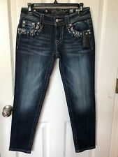 MISS ME Women's Signature Crop Skinny Jean Size 27 New with tag
