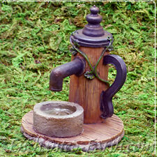 New Vivid Arts Miniature World Plus Size - Fairy Water Pump -Model Village-9cm